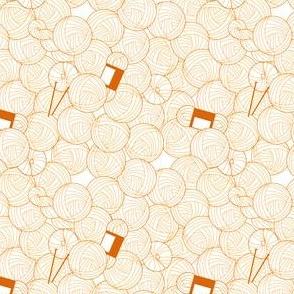 Yarn Pile - Orange