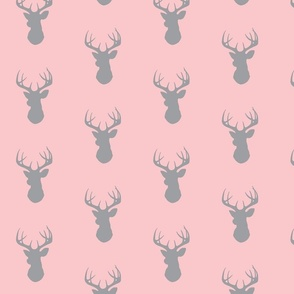 Deer-pink/grey
