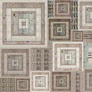 Quilt of Handmade Paper