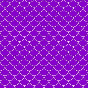 Purple fish scale / mermaid scales