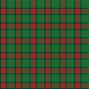 "Maxwell hunting tartan small - 3"" repeat"