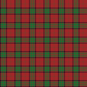 "Maxwell clan tartan small - 3"" repeat"