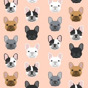 French Bulldog sweet frenchies blush girls dog pet puppy puppies pet friendly fabric
