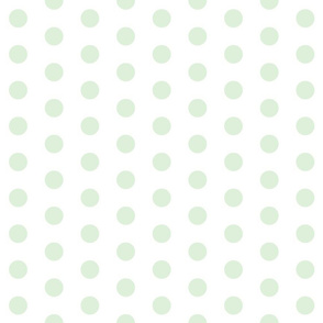 Cucumber Polka Dots - Large