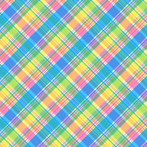 Spring Pastels Colorway - Plaid #2 - Variation