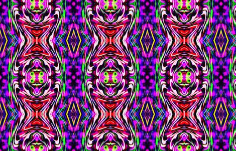 Twirling Kaleidoscope fabric by _e'flomae_ on Spoonflower - custom fabric