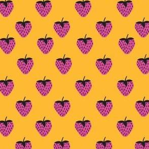 strawberries Orange and Pink