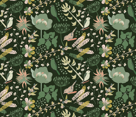 Wonderland - South Shore fabric by abbyhersey on Spoonflower - custom fabric