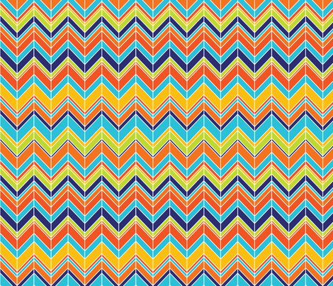 Surfs Up Chevy fabric by laine_and_leo on Spoonflower - custom fabric