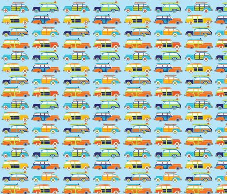 Let's Roll fabric by laine_and_leo on Spoonflower - custom fabric