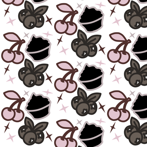 Delicious Rockabilly fabric by mopeysealion on Spoonflower - custom fabric