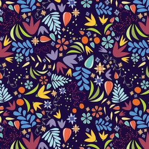Fall Floral-Dark