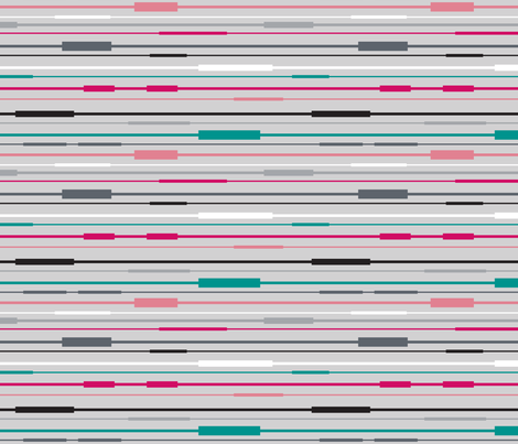 Transit Lines  fabric by brendazapotosky on Spoonflower - custom fabric