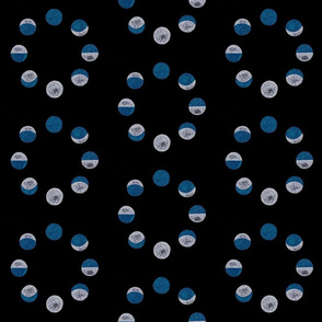 Sideways Blue Moon Phases