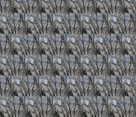 FrozenBranches fabric by jacneed on Spoonflower - custom fabric