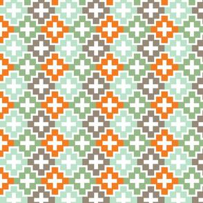 cross check orange