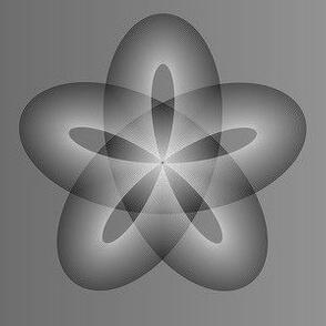 Ombre Spirograph