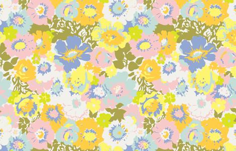 Big Blooms col. 2 fabric by marla_wonboy on Spoonflower - custom fabric