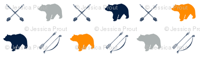 Bear and arrows // Great Outdoors