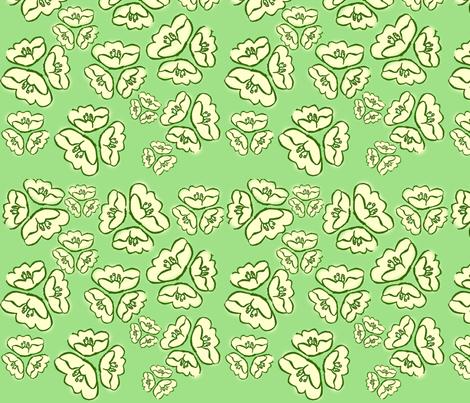 Cuties on Kiwi fabric by della_vita on Spoonflower - custom fabric