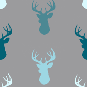 Deer-Teal/Blue/Grey- Winslow