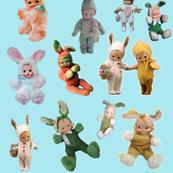Vintage Easter Kewpies