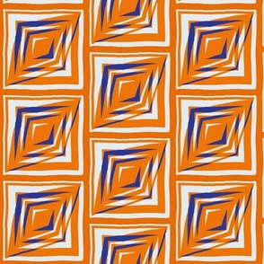 Orange and Blue Cubes