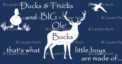 Ducks Bucks & Trucks // midnight