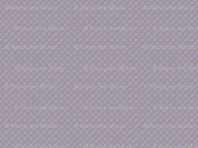 Demure Dots for Lavender Whispering Daydreams