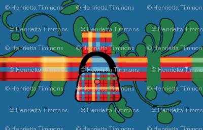 Handbags In A Row