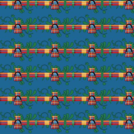 Handbags In A Row fabric by henny_penny on Spoonflower - custom fabric