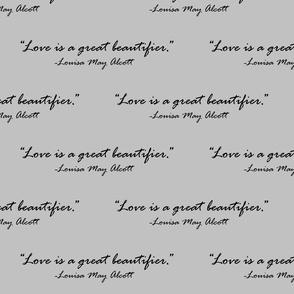 Danita's Favorite Quote By Louisa May Alcott