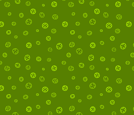 Xs and Os: Grass fabric by laurelpoppyandpine on Spoonflower - custom fabric