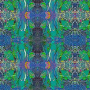 Blue Cactus Surreal