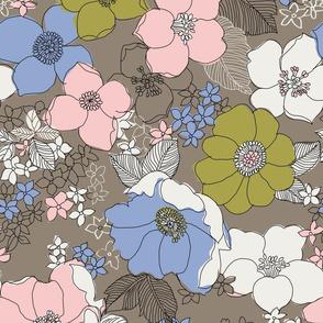 Fantastic Retro Floral