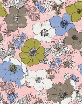 Mini Fantastic Floral