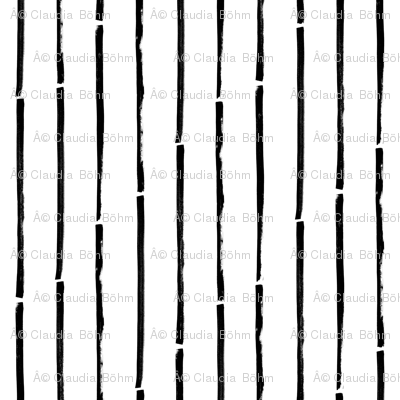 black white striped vertical