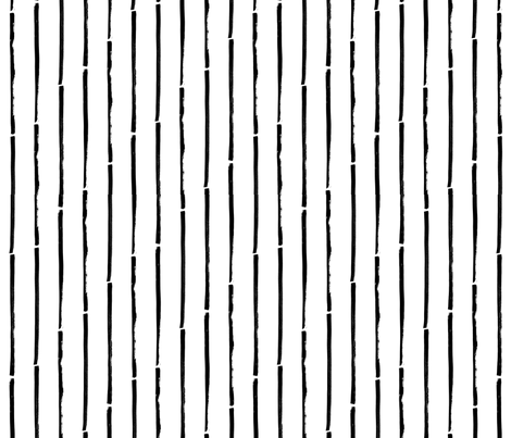 black white striped vertical fabric by primuspattern on Spoonflower - custom fabric