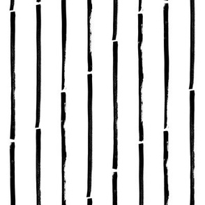 black white striped vertical