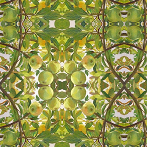 Table length apple branches
