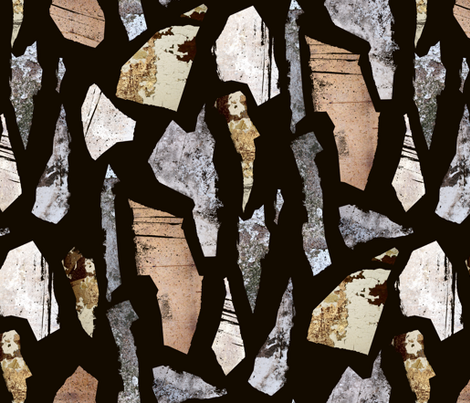 stones fabric by zenchuva@gmail_com on Spoonflower - custom fabric