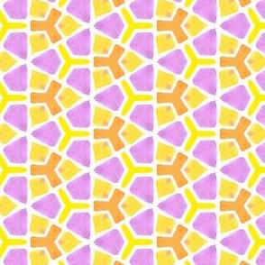 Triangle Glory Geometric Water Color Kaleidoscope
