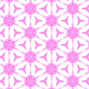 Pink Strands Water Color Painting Pattern