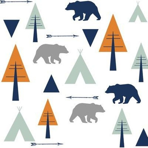 bear camp // orange