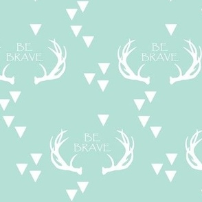 brave antlers // mint
