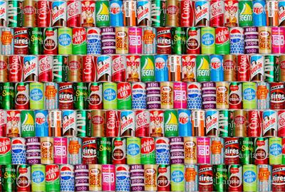 Dean's Vintage Soda Cans