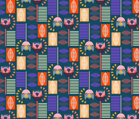Gracie Allen fabric by madmelody on Spoonflower - custom fabric