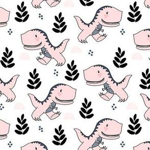 T-Rex Dinos in Pink
