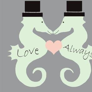 Seahorse Wedding Gay