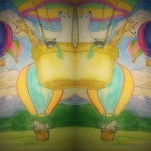fantastical balloon ride